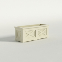 Carriage House Premier Composite Commercial Planter 48in.L x 18in.W x 18in.H