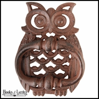 Cast Iron Door Knocker - Owl
