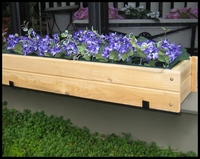 Cedar Window Box with Liner