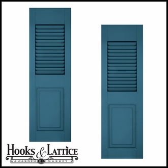 Combination Exterior Shutters