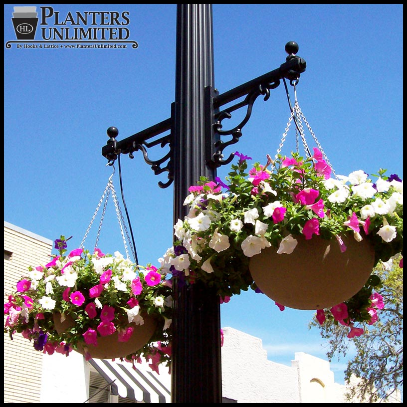Commercial Hanging Baskets Large Flower Baskets