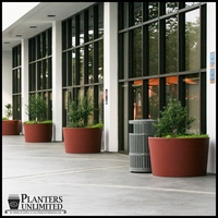 Commercial Planters, Hanging Baskets and Site Amenities