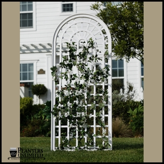 Composite PVC Trellises & Garden Screens