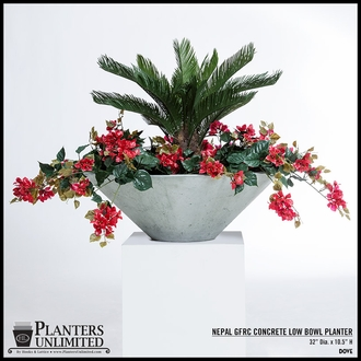 Weathered Stone Planters
