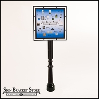 Contemporary Sign Holder System-18in.W x 24in. H