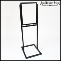 Contemporary Steel Sign Holder