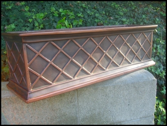 Copper ArmoreCoat La Fleur Window Box