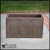 Corten Steel Finished Planters - Rectangular