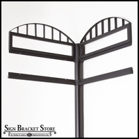 Custom Decorative Street Sign Frame