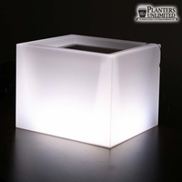 Custom Size Two Piece Illuminated Planters