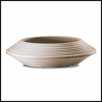 Danbury 24in. Bowl Planter - Weathered Stone