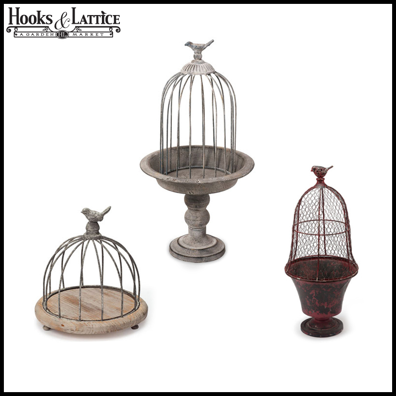 Decorative Bird Cages Amp Bird Cage Planter Decor