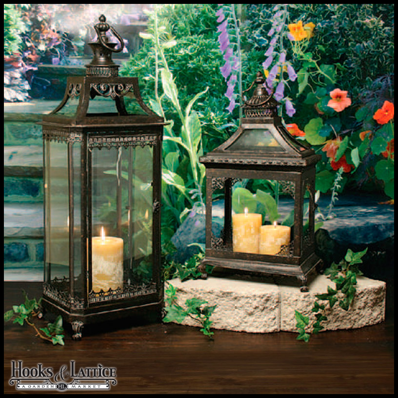 Garden Lanterns Metal Lanterns Outdoor Candle Lanterns