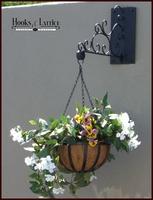 Decorative Scroll Heavy Duty Wall Mount  Basket Bracket