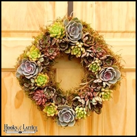 Diamond Succulent Wreath