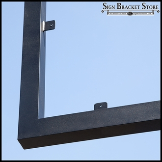 Direct Bury Metal Sign Frame
