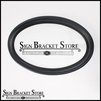 Double-sided Dimensional Oval Sign Blank