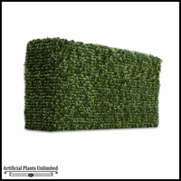 Duraleaf Boxwood Hedge 24inLx 12inW, Indoor