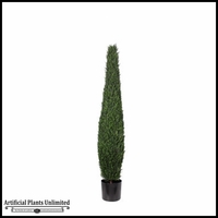 5', 6' or 8' Duraleaf Cypress Topiary Tree, Outdoor