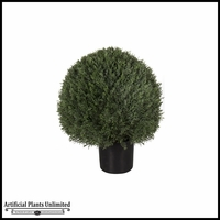 Duraleaf Cypress Trimmed Sphere Bush, 2 Sizes Available, Outdoor