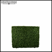 Duraleaf Outdoor Boxwood Hedge in Modern Planter 48inL x 12inW