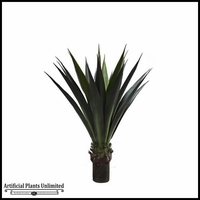Duraleaf Unpotted Green Agave Plant 36in, Outdoor