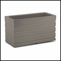 Elmhurst 36in. Low Rectangular Planter - Mocha