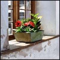 Eloquence Low Square Planter