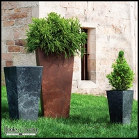 Eloquence Tall Resin Planters