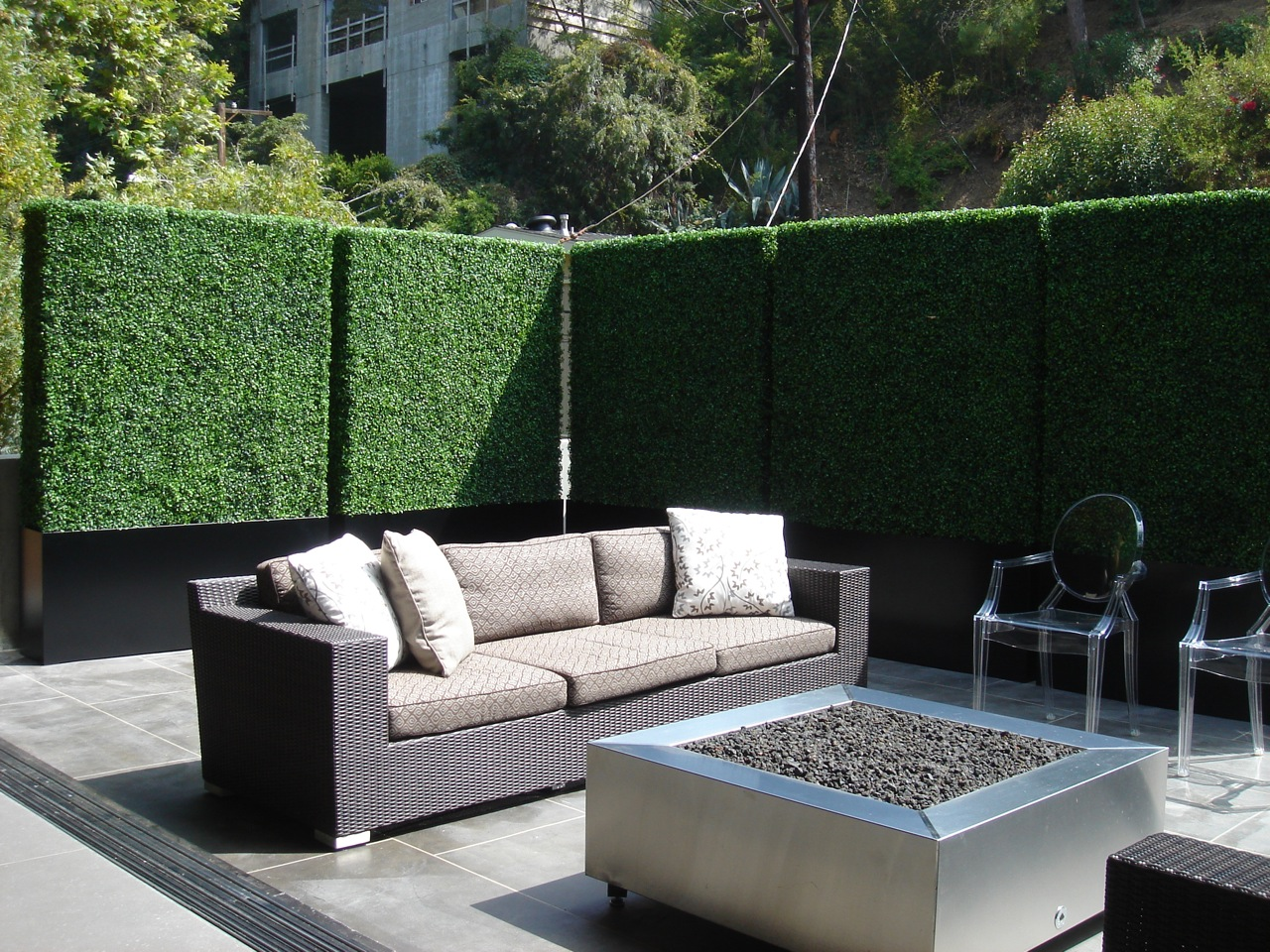 Balcony Privacy Screen Outdoor Screens Hedge