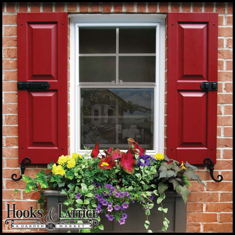 Custom Exterior Shutters, Standard Window Shutters