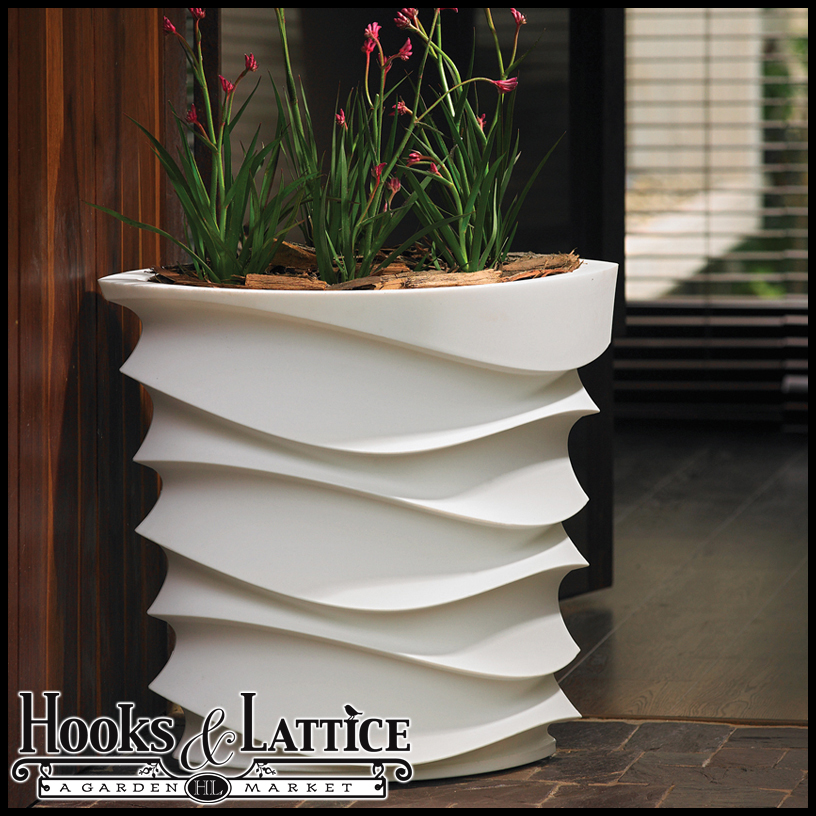 expressions contemporary planter unusual modern indoor