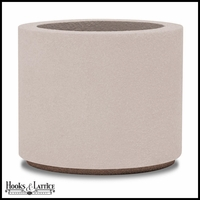 Banbridge Round Planter with Toe Kick - White