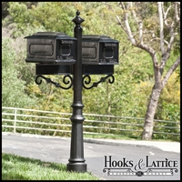 Fairlawn Double Mail Box Complete System