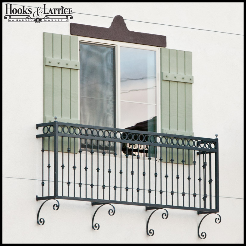 Juliet Balcony - Faux Balcony - Balconet | Hooks & Lattice