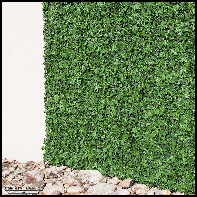 Outdoor Fake Ivy Green Walls Artificial Plants Unlimited