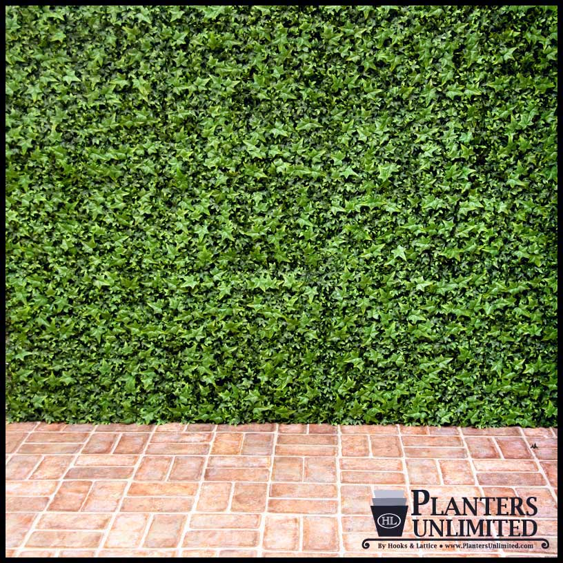 Outdoor Fake Ivy Green Walls | Artificial Plants Unlimited