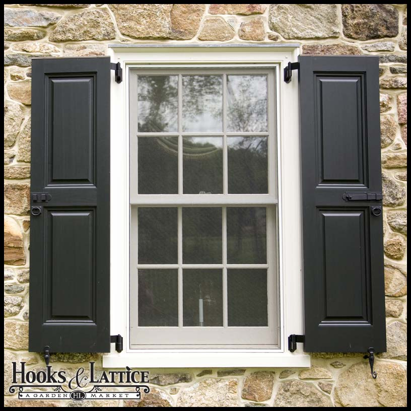 Architectural Accents Exterior Shutter Hardware Hooks And Lattice