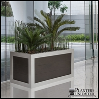 Faux Wood Planter