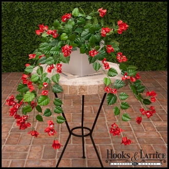 Fire Retardant Artificial Flowering Plants & Vines