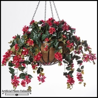 Flowering Plants in Hanging Baskets