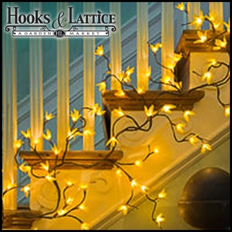 Forsythia Lighted Garland