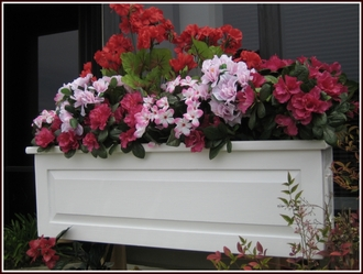 Framed Panel Cedar Window Boxes