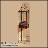 Free Standing Terrariums, Terrariums on Stands, Tall Display Cases