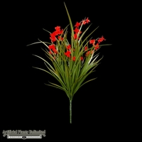 Freesia Bush, Red 22in - Outdoor Rated