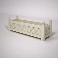 French Lattice Premier PVC Planter 60in.L x 18in.W x 18in.H