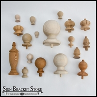 Furniture Grade Wood Finials