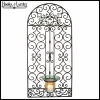 Garden Gate Wall Hurricane Holder
