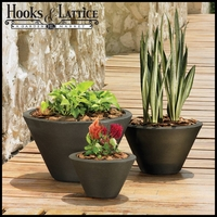 Glendon Tapered Round Planters