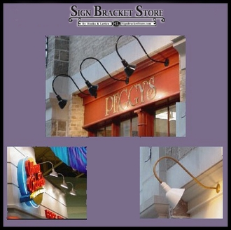 Gooseneck Lighting - Aluminum - With Quickship Option